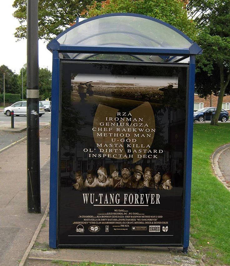 Wu-Tang Forever | Promotional Poster Design