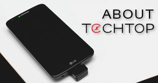 LG Techtop - tabletop that charges devices