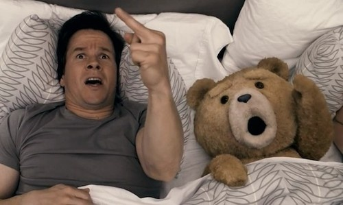 "When you hear the sound of thunder, don't you get too scared. Just grab your thunder buddy and say these magic words: ""F**k you thunder! You can suck my d**k. You can't get me, thunder, 'cause your just God's farts. Pft."
