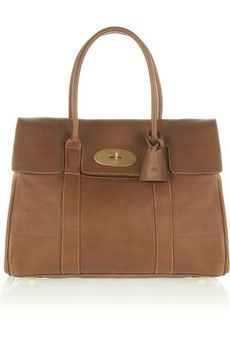 Mulberry The Bayswater textured-leather bag   NET-A-PORTER - someday