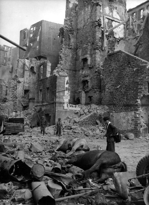 Brest, France, 1944.