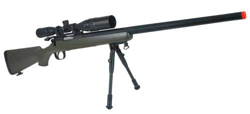 Matrix VSR-10 MB03 Bolt Action Airsoft Sniper Rifle by WELL - OD Green (Package…