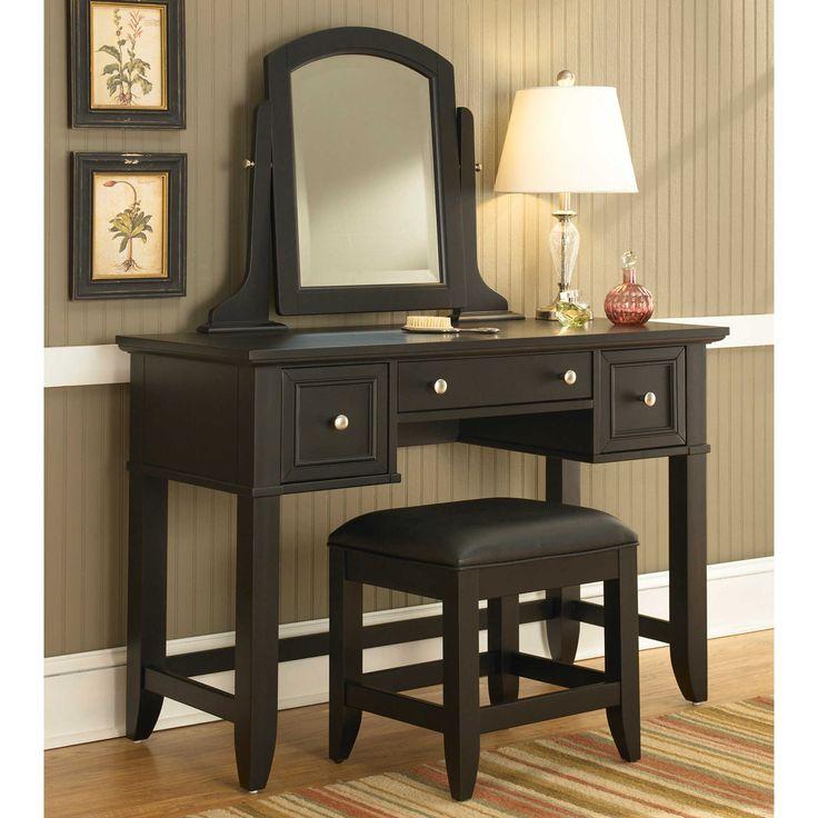 25+ best ideas about Black Vanity Set on Pinterest Black vanity table, Vanity set with lights ...