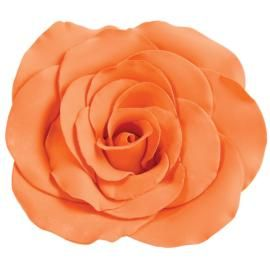 How to make a Giant Gum Paste Rose. Step-by-step instructions.