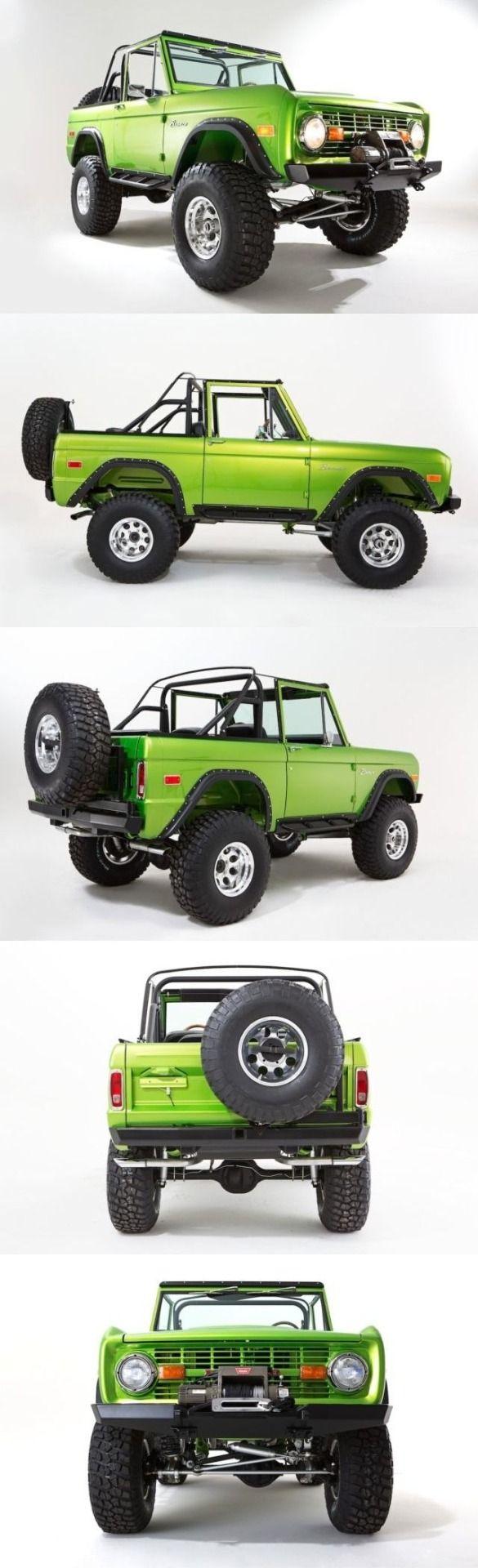 Ford Bronco: Yo manejaría este carro asta que se le saliera una llana y después ponerle nuevas llantas y usarlo denuevo!! (Ford Bronco no es mío pero me gusta este carro)