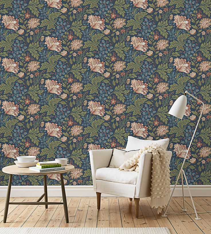 Design Classic | Vintage | Ava Wallpaper by Sandberg | Jane Clayton