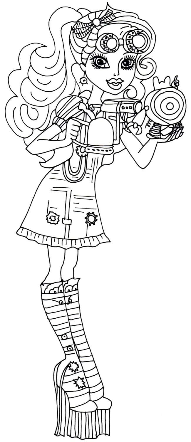 918 best coloring pages images on pinterest monster high party