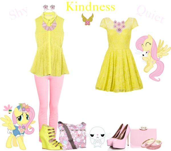 Fluttershy (My Little Pony Friendship is Magic) Inspired Outfit
