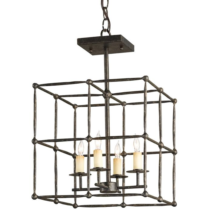 Currey u0026 Company 9931 Fitzjames Square Ceiling Mount This Currey u0026 Company square foyer light has a mayfair finish. For use with four clear incau2026  sc 1 st  Pinterest & 75 best PENDANT LIGHT images on Pinterest | Lighting design ... azcodes.com