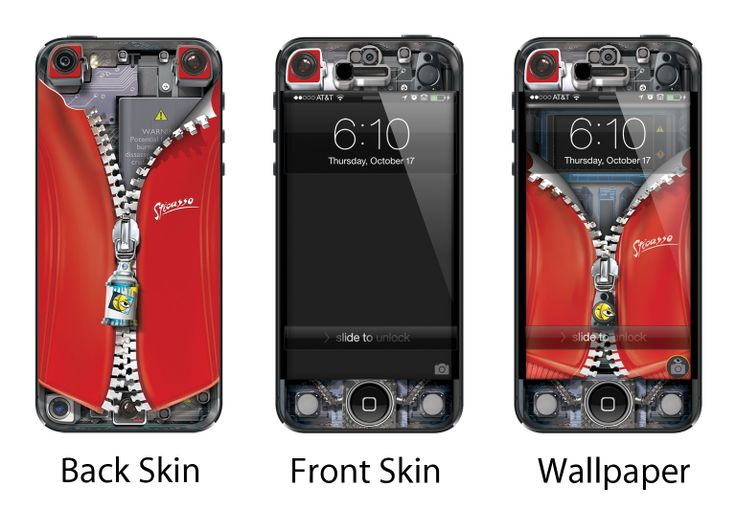 Sticasso's Skin/Deacals for your iPhone 4/4S and iPhone 5 with a large range of varieties.