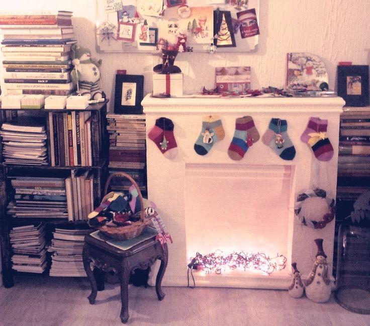 DIY part 27: Рождественский камин | Aniri Kintevs
