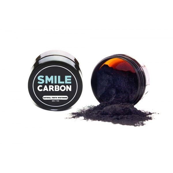 Le Charbon Actif de SMILE Carbon est un dentifrice blanchisseur de dents innovants qui propose une alternative plus efficace que le bicarbonate de soude. Avec ses propriétés d'adhésif naturel, le charbon se lie avec les tâchent les plus tenaces afin de les éliminer tout en vous débarrassant des toxines accumulées à la surface de vos dents.