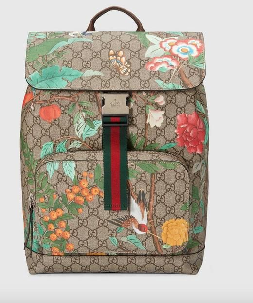 034b89c65be Gucci Tian GG Supreme backpack flowers and birds.  Spoiltlady  Supreme   Backpack  Beigebag  floralbag  birds  just like the original   premiumquality ...