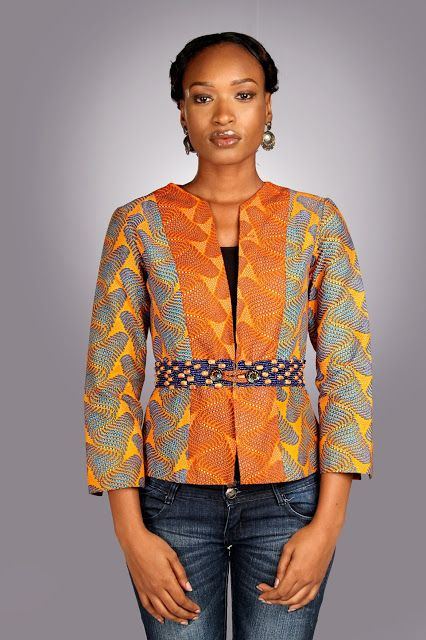 Nike Akinola Designer African Fashion Style Ankara Kente African Fashion Jackets