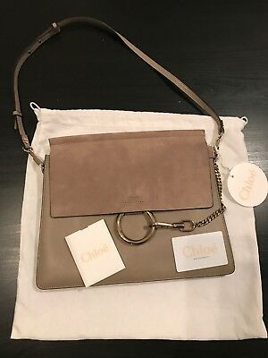 2aef0b3bc45 CHLOE Medium Faye Bag in Motty Grey Color- made in italy #Chloe #Fashion  #FashionAccessories #ChloeShoes #ChloeHandbags #GetTheLook