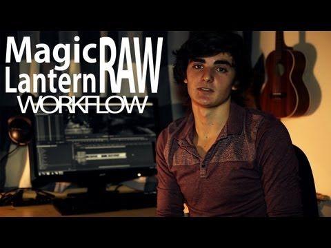 Magic Lantern 14Bit RAW Workflow - Canon 5D Mark III - YouTube
