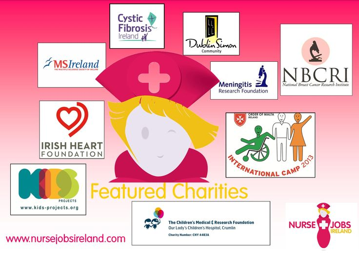 Here are some of our featured charities so far this year If you want to know more about our CSR poicy or how to become a featured charity see http://www.nursejobsireland.com/csr-nurse-jobs-ireland/