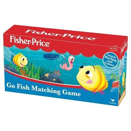 Go Fish Game Its a memory matching game where kids fish for colorful cards with a plastic pole