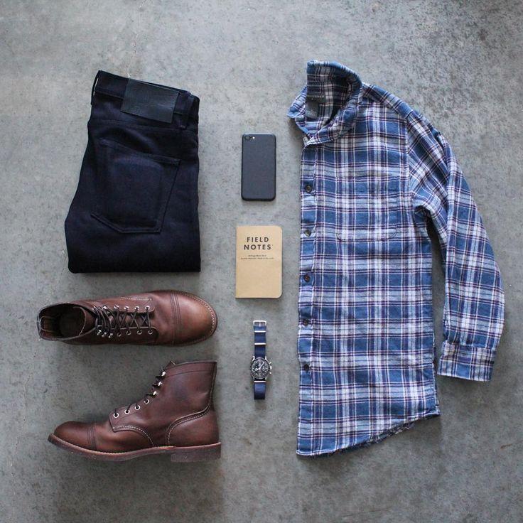 Start your week looking as sharp as @awalker4715