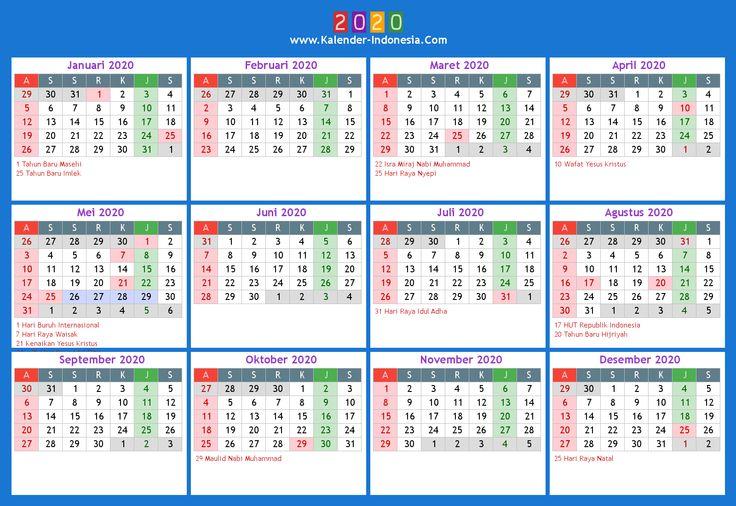 20+ Calendar 2021 Indonesia - Free Download Printable ...