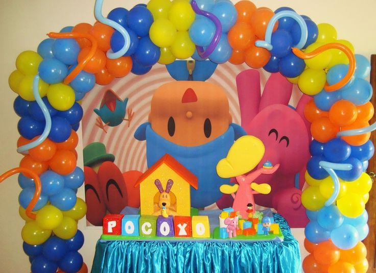 Pocoyo Decorations | QUERO + festa!: Decoração Infantil