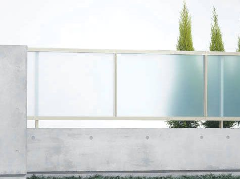 Polycarbonate fence google search art writing studio for Grensafscheiding tuin