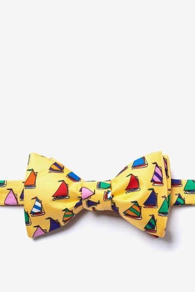 Rainbow Fleet Butterfly Bow Tie
