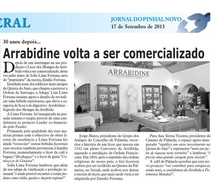 Clipping: Jornal do Pinhal do Novo - 17/09/2013