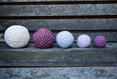 Crochet Balls. The Secret Formula for Crochet Balls of Any Size [Free Pattern]                                                                                                                                                                                 More