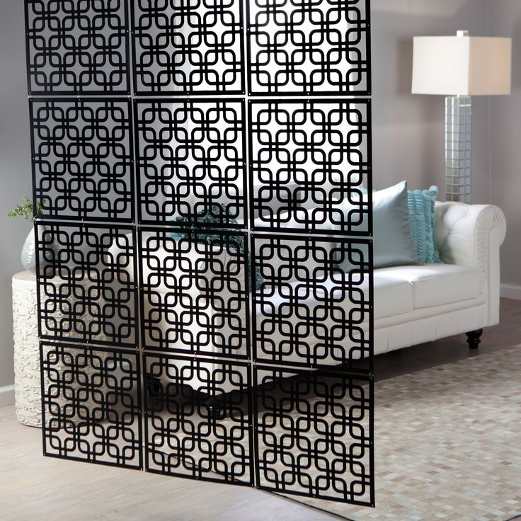 Interwoven Decorative Panel   Set Of 4   X In. Each   Interior Room Dividers  At IRoom Dividers