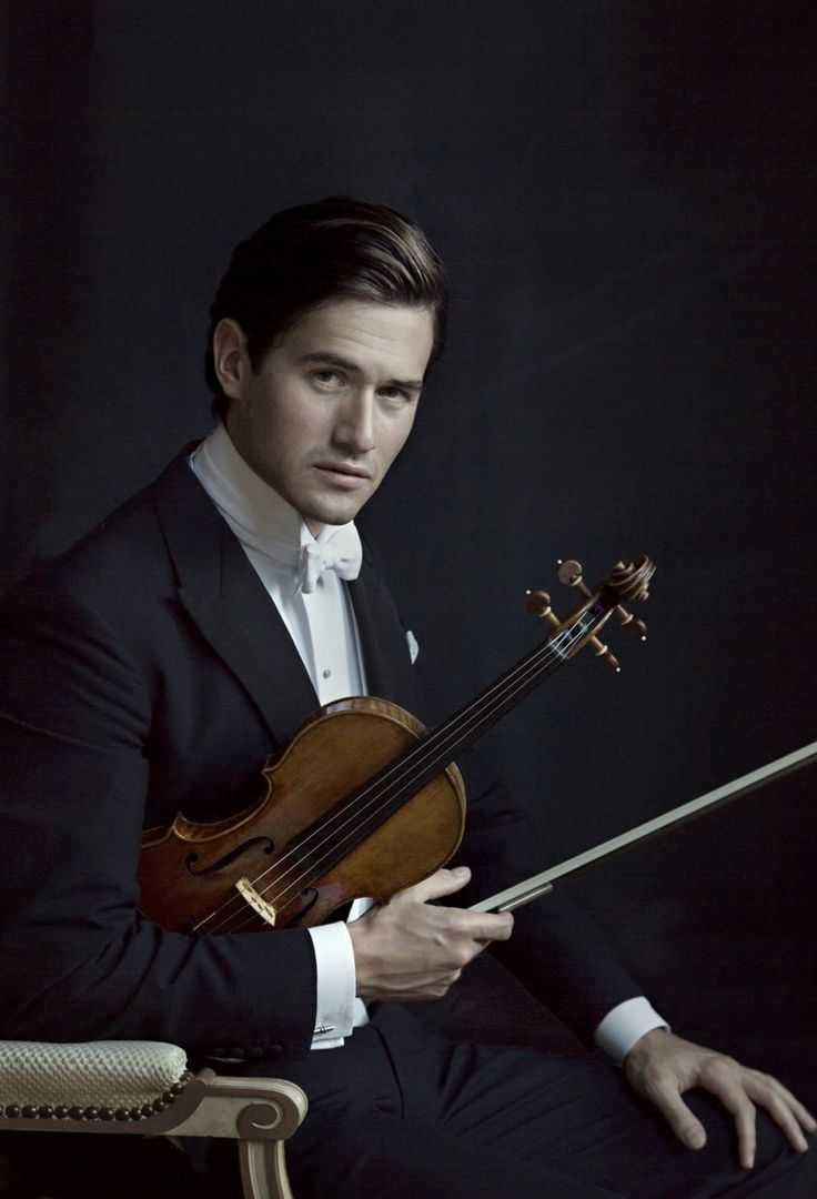 Charlie Siem by Mariell Amélie, British classical violinist, b. 1986
