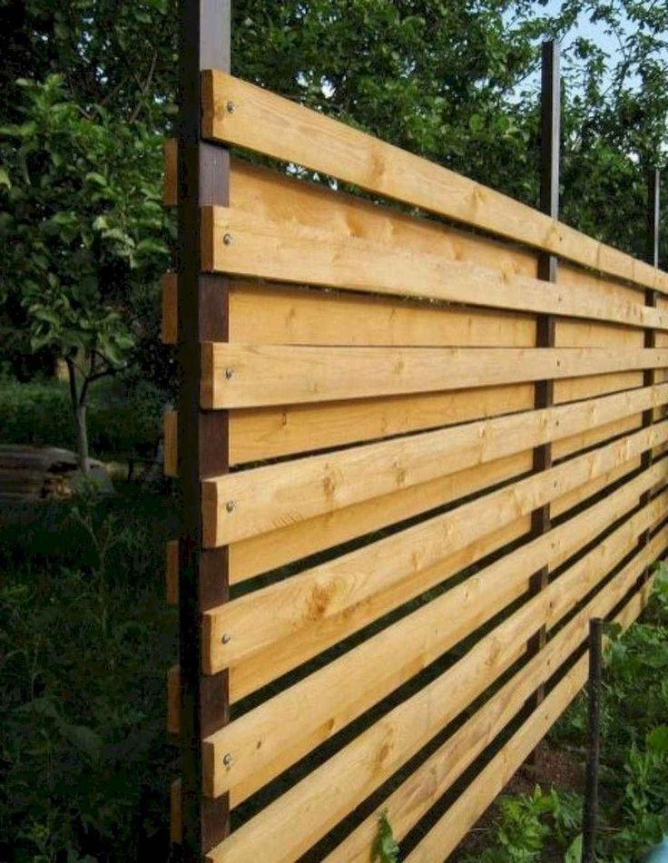 31+ Great Privacy Fence Design Ideas To Get Inspired