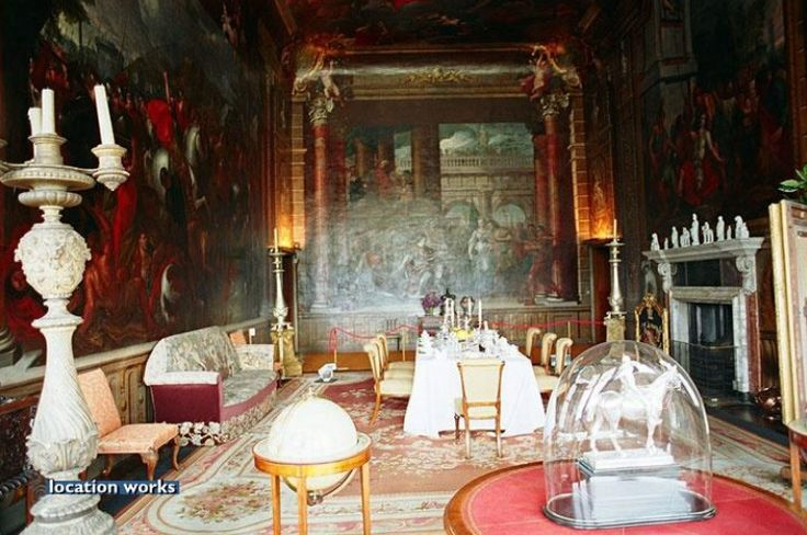 State Dining Room. Burghley House | British Isle Castles