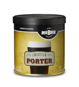 Mr. Beer American Porter Refill Brew Pack by Coopers DIY LLC dba Mr Beer. $17.82. Easy to use, just add water. Makes 2 gallon of All-Malt Beer. 14 Day brewing process. Most popular brewing styles. All malt beer. Produces 1 batch (2 gallon total) of All-Malt style beer. Includes: 1 Can American Porter, 1 Packet Dry Brewing Yeast (under lid of HME), 1 Packet No Rinse Cleanser, and Instructions.