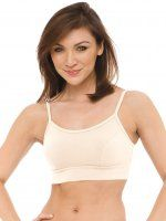 BLUE CANOE Organic Cotton Yoga Bra now 10% Off for a limited time. Soft and comfortable. Made in USA.