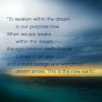 Image result for eckhart tolle dream quotes
