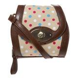 Polka Dot Across Body Bag