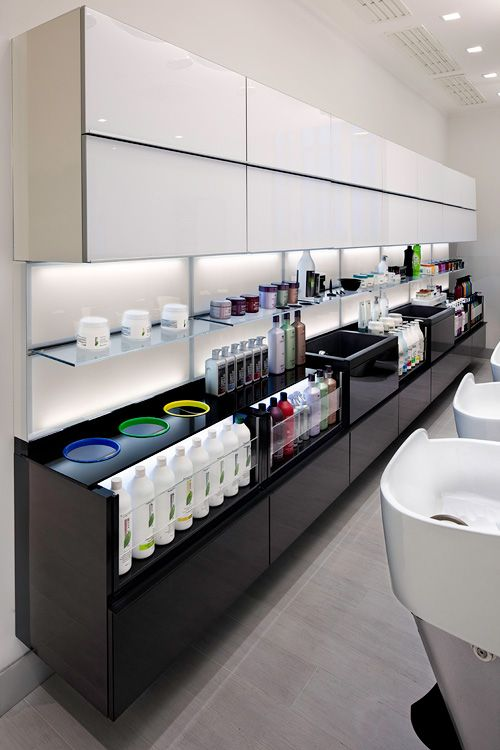 Accademia L'Oréal - Turin - Italy, salone, manufacturer, sales hair style salon furniture