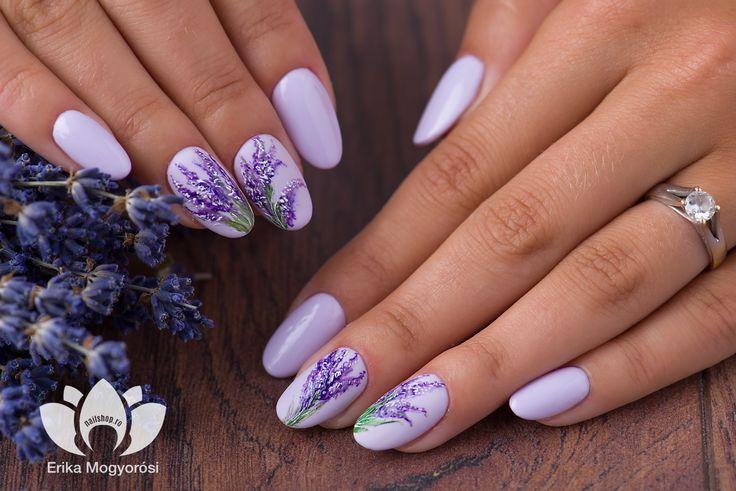 #purpule #lavander #romantic #look #inspirationoftheday #nailshop