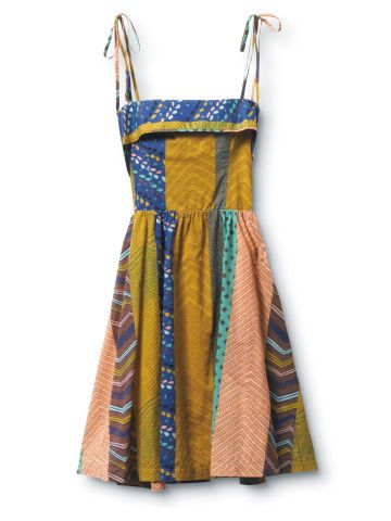 how to make a patchwork dress