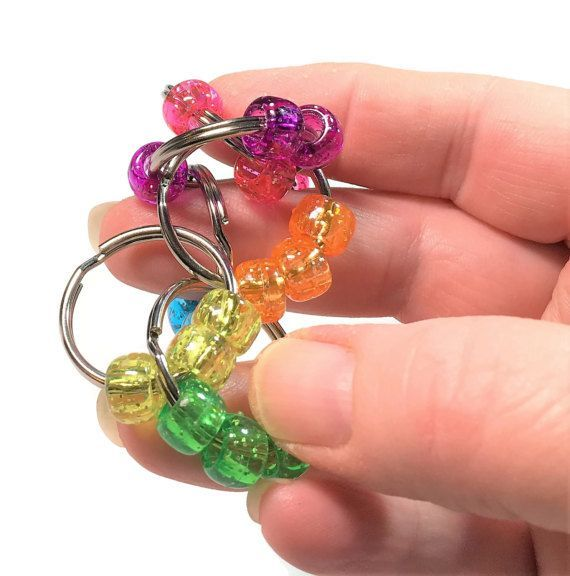 Fidget / Rings / Sensory Toy / Stress Reliever / Pocket Fidget / Autism / Sensory Processing Disorder / ADHD / Desk Toy / Choose Bead Colors