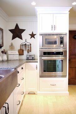 Woodecor Custom Painted Farmhouse Kitchen - farmhouse - kitchen - toronto - Woodecor Ltd