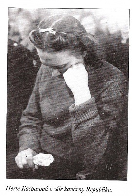 Herta Kašparová, hanged at the age of 23 in Czechoslovakia in 1946 for collaborating with the Nazis.: Mi Father, Father Side, Nazi Germany, Age, Herta Kašparová, Herta Executive, Herta Kasparova, War Ii, History Ww Ii
