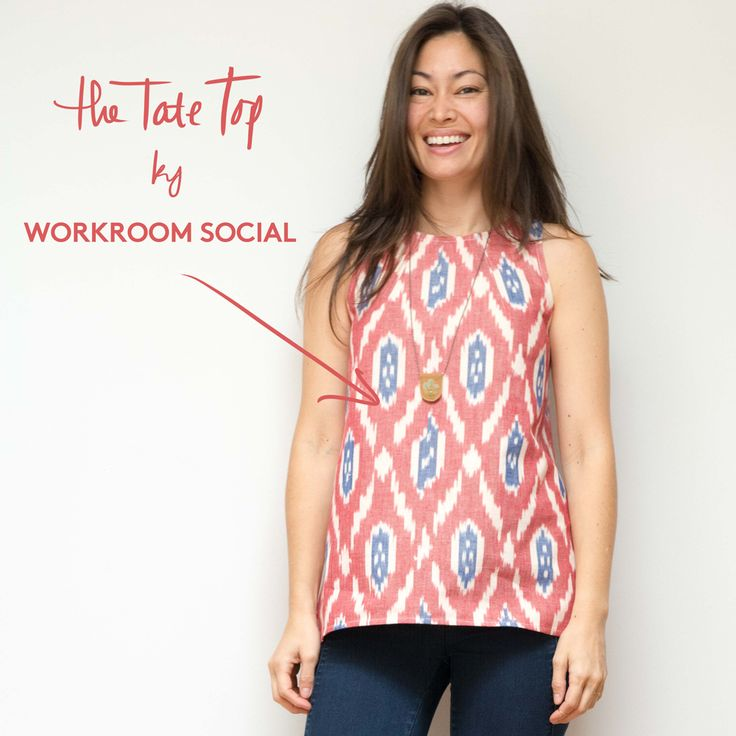 The Tate Top - a free sewing pattern - WORKROOM SOCIAL - Sewing Studio in Brooklyn, NY