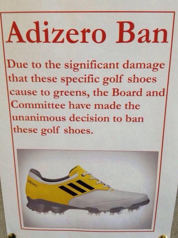 adidas adizero shoes banned