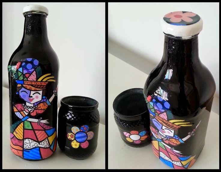 fika a dika por um mundo melhor vidros decorados da maxi criaes