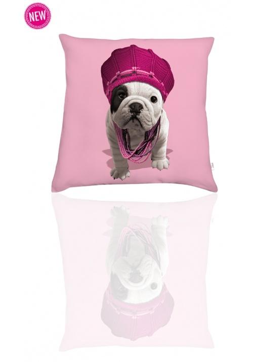 Coussin decoratif tendance & design Teo Marley Rose baby - Decorative designed cushions Teo Marley Rose baby
