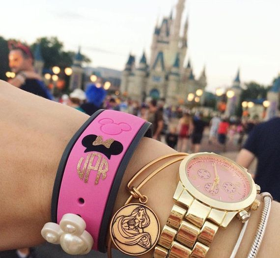 Monogrammed Disney Magic Bands Disney Magic by SimplySouthernChics