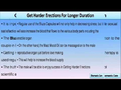 This video describes about getting harder erections is now no more a big deal with Bluze capsules.