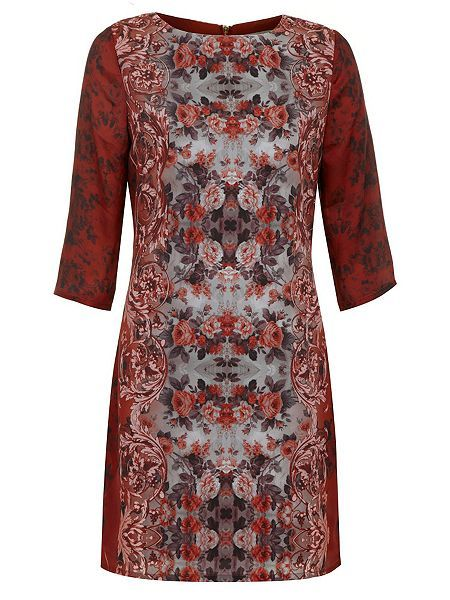 £29.00   The Mirrored Paisley Floral Dress  The Mirrored Paisley Floral Dress